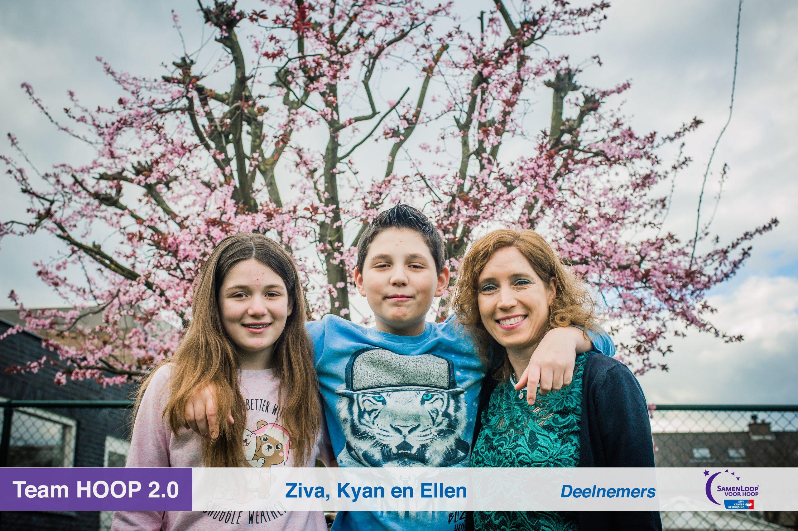 Ellen, Kyan en Ziva